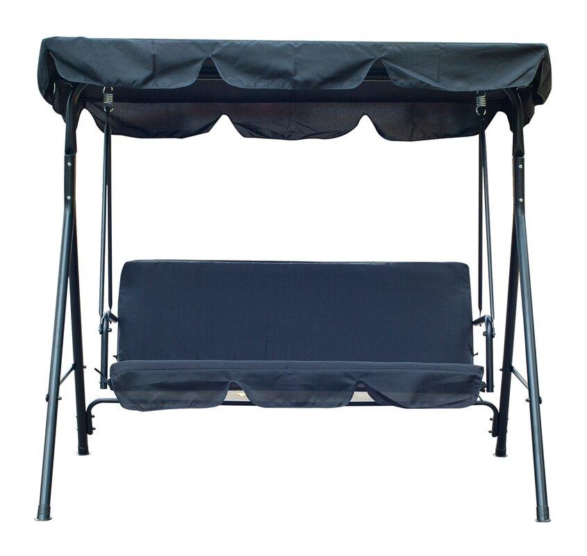 Katelynn 3 Person Canopy Porch Swing  sc 1 st  Wayfair & Freeport Park Katelynn 3 Person Canopy Porch Swing u0026 Reviews | Wayfair