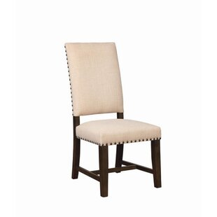 Powell Parsons Upholstered Dining Chair (Set of 2) by Canora Grey