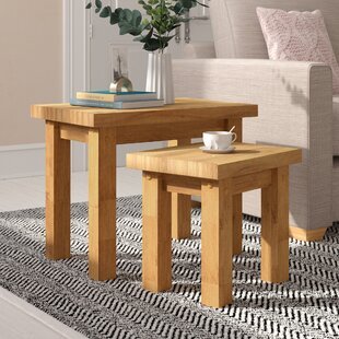 Agade Nest Of Tables (Set Of 2) By Home & Haus