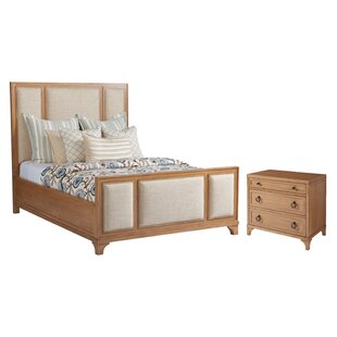 Newport Upholstered Panel Configurable Bedroom Set by Barclay Butera Sale