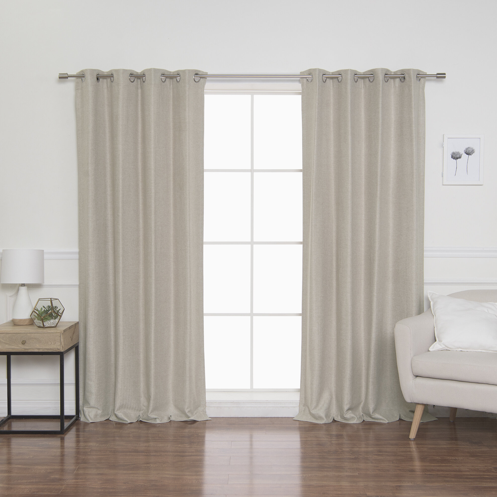 Beige Synthetic Curtains Drapes You Ll Love In 2021 Wayfair