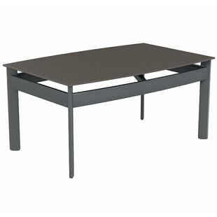 Kor Rectangular Aluminum Coffee Table