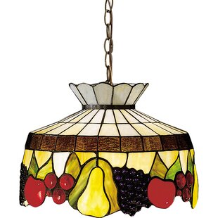 Meyda Tiffany Tiffany 1-Light Inverted Pendant