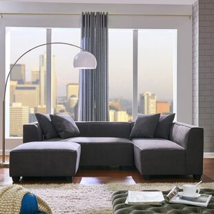Antoine Carmean Modular Sectional with Ottoman by Langley Street