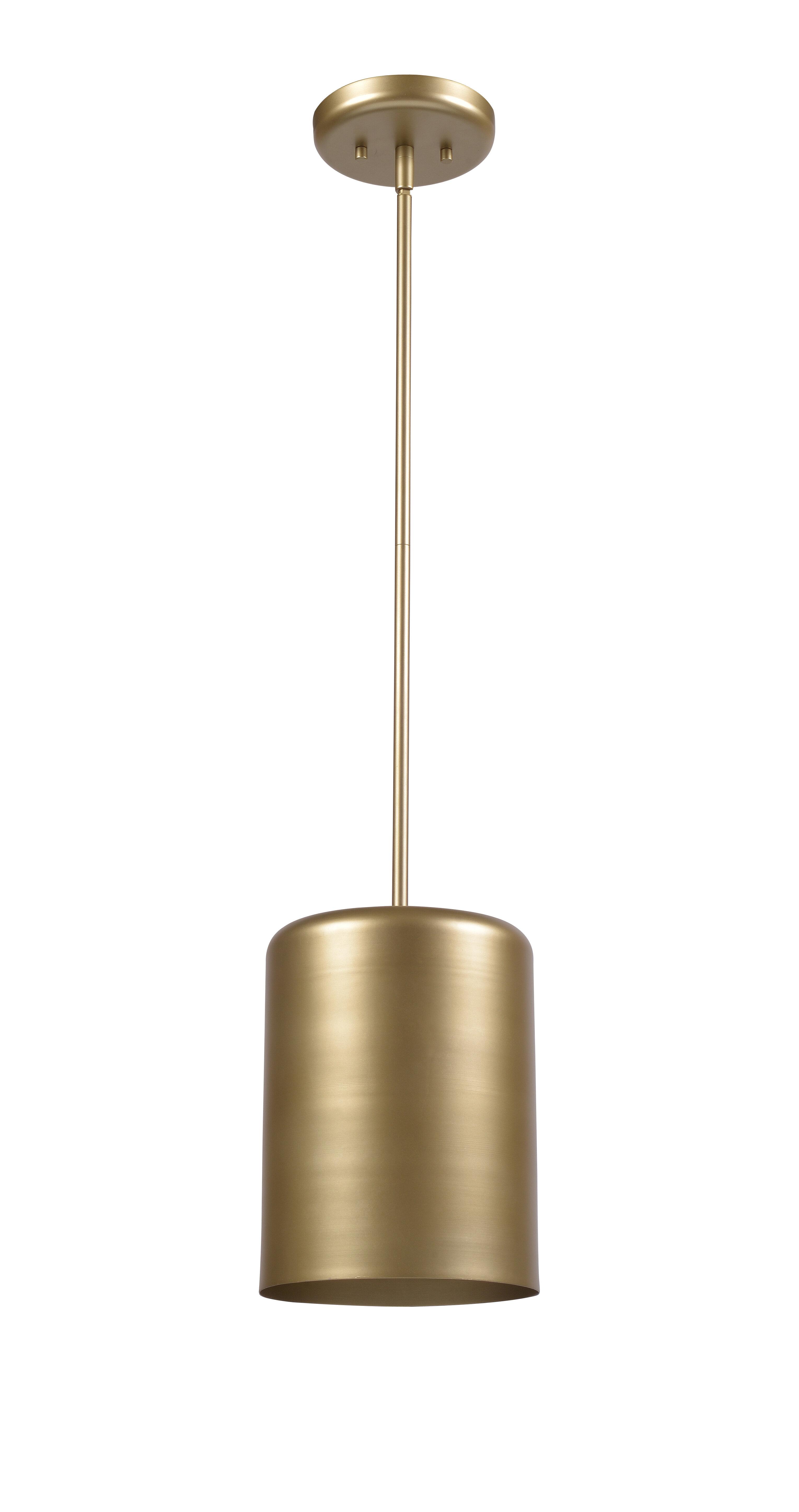 Anrey 1 Light Single Cylinder Pendant Reviews Allmodern