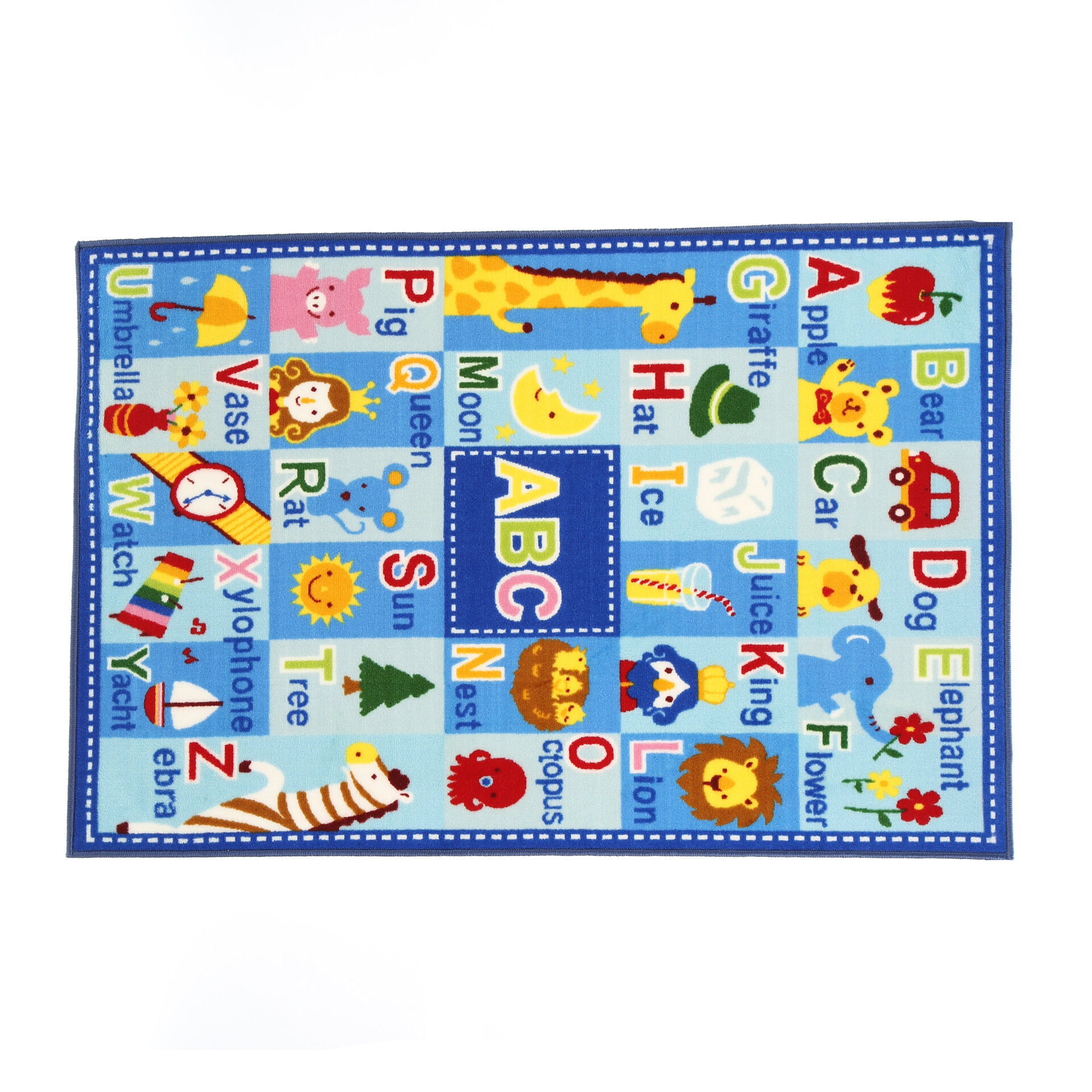 Fun Rugs Fun Time Letters and Names Area Rug & Reviews | Wayfair