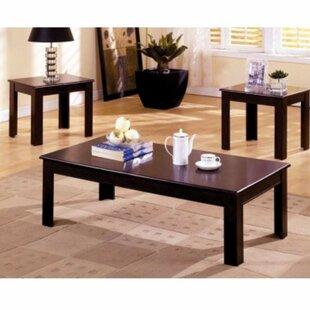 Winston Porter Laverton 3 Piece Coffee Table Set