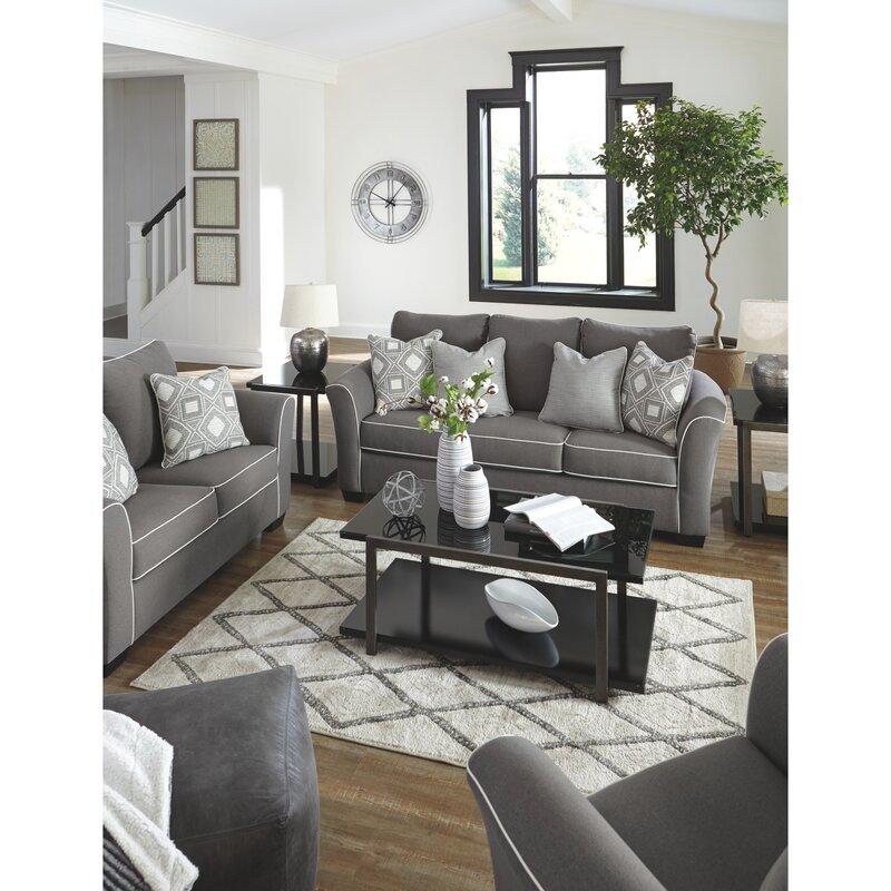 Signature Design By Ashley Domani 3 Piece Configurable Living Room Set Reviews Wayfair