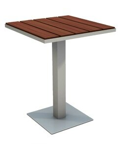 Modern Outdoor Etra Stainless Steel Coffee Table