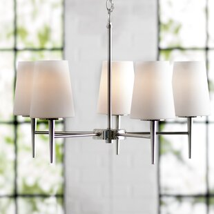Langley Street Ganador 5-Light Shaded Chandelier