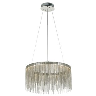 Everly Quinn Lechlade 1-Light LED Pendant