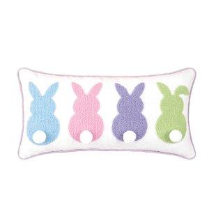 5152a01f410 Pride Bunny Bum Cotton Lumbar Pillow