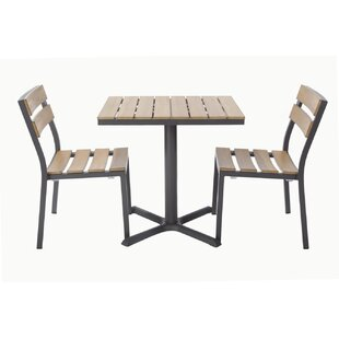 Madbury Road Asher 3 Piece Bistro Set