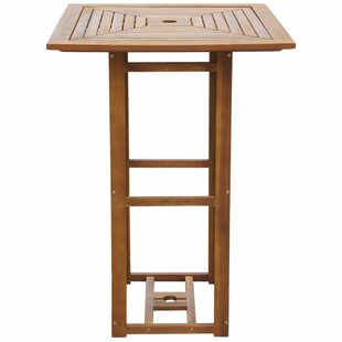 Ascencio Wooden Bar Table By Sol 72 Outdoor