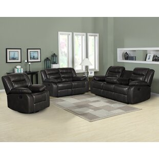 Best Trista Reclining 3 Piece Living Room Set by Red Barrel Studio Reviews (2019) & Buyer's Guide