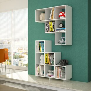 Cleo Cube Unit Bookcase (Set of 2) Latitude Run