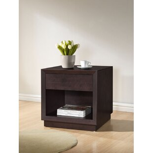 Reviews Spicer End Table with Storage by Ebern Designs