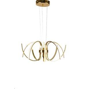 Mercer41 Kingery 10-Light LED Novelty Chandelier