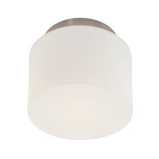 Sonneman 1-Light Drum Semi..