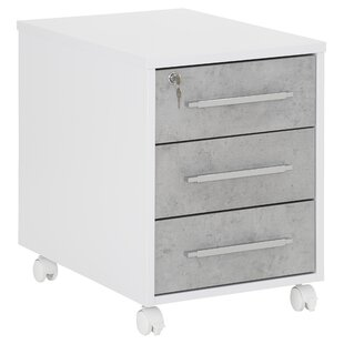 Tahmina 3 Drawer Filing Cabinet By Mercury Row