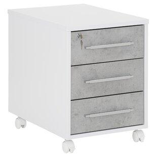 Tahmina 3 Drawer Filing Cabinet By Mercury Row