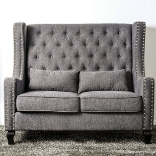 Sara Loveseat by Charlton Home