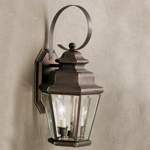 Best Reviews Bigley 2-Light Outdoor Wall Lantern By Darby Home Co