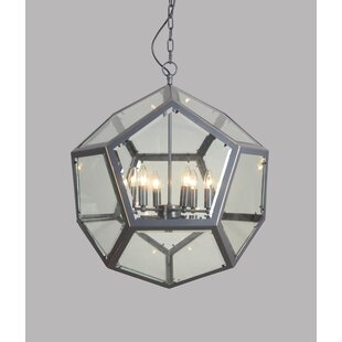 Herm?nia 6-Light Geometric Chandelier by 17 Stories