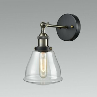 Spiegel Glass 1-Light Armed Sc..