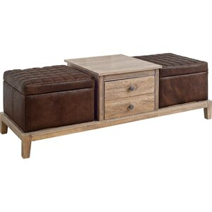 York Coffee Table by 17 Stories
