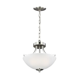 Lea Convertible 4-Light Semi Flush Mount by Charlton Home