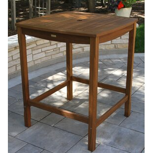 Mallie Wooden Bar Table