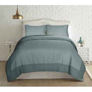 Donoghue 4 Piece Reversible Coverlet Set