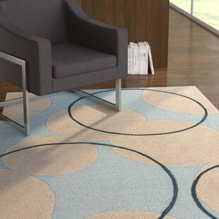 Compare Labarbera Hand-Tufted Light Blue/Beige Area Rug By Latitude Run