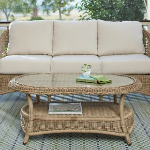 Riesel Wicker Coffee Table