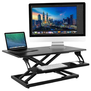 Edgewood Height Adjustable Standing Desk with Keyboard Tray