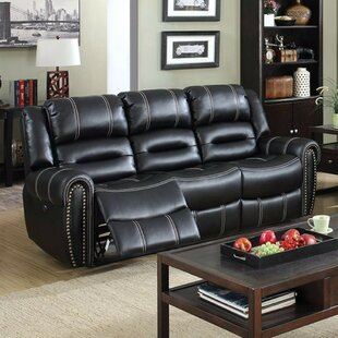Ganey Leatherette Recliner Sofa