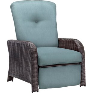 Ashton Luxury Recliner Chair with Cushions By Sol 72 Outdoor