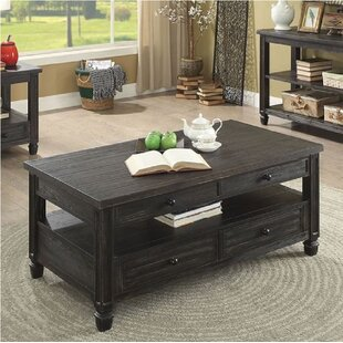 Dear Coffee Table with Storage