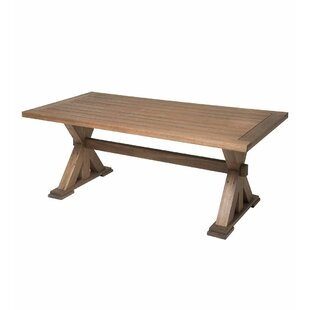 Claremont Eucalyptus Dining Table Plow & Hearth