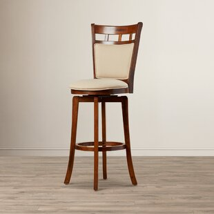 Linden 30 Swivel Bar Stool Red Barrel Studio