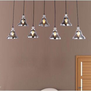 Compare Daughtry 7-Light Cluster Pendant By Wrought Studio