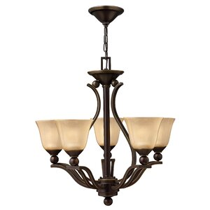 Bolla 5-Light Candle-Style Chandelier