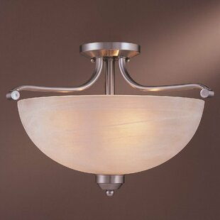 3 Light Paradox Semi Flush Mount by Minka Lavery