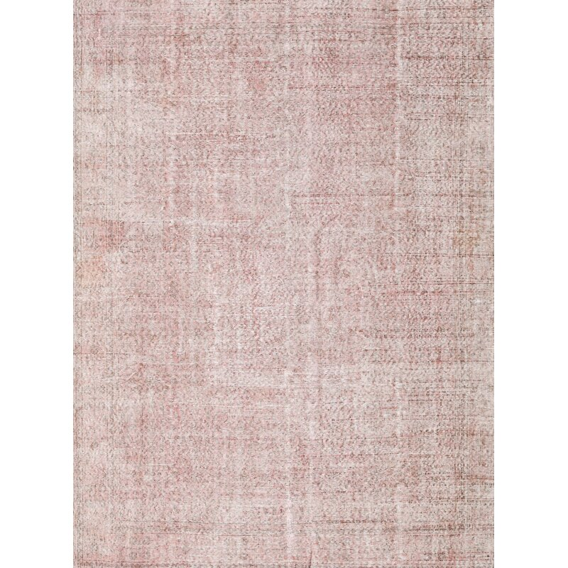 Latitude Run Broady Hand Tufted Wool Light Pink Area Rug Wayfair