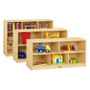 Bargain 5 Compartment Cubby with Casters By Jonti-Craft