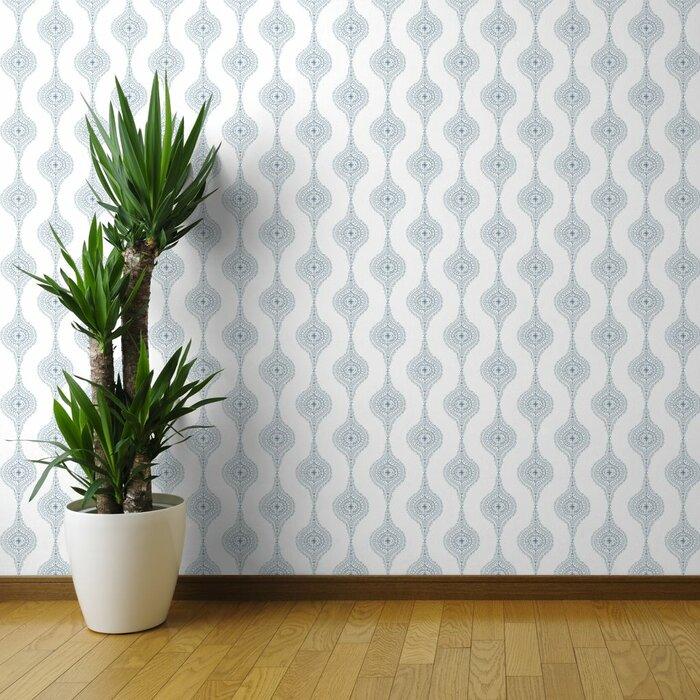 Ewart Damask Removable Wallpaper