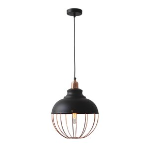 Reviews Magritte 1-Light Pendant By Light Society