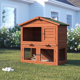 Melvin Wooden Pet House Poultry Hutch Chicken Coop With Chicken Run By Tucker Murphy Pet