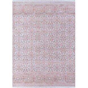 Bergeron Pink Area Rug byBungalow Rose